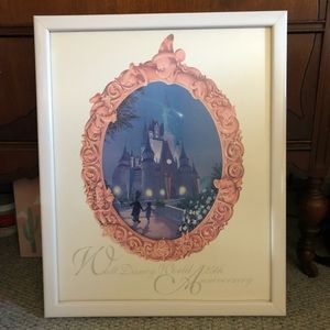 Disney world 25th Anniversary Limited Ed print